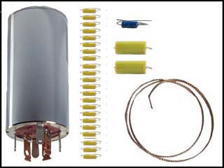 Hallicrafters S-76 Can Capacitor and Re-Cap Kit