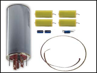 Hallicrafters SR-150 Can Capacitor and Re-Cap Kit