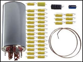 Can Capacitor and Re-Cap Kit for the Hallicrafters SX-62, SX-62A, and SX-62B