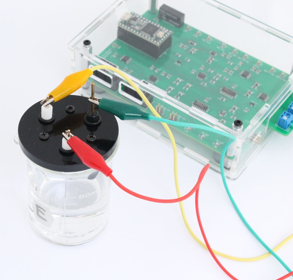 Making a custom electrochemical cell – IO Rodeo