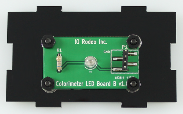 557 nm LED colorimeter board