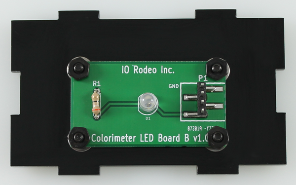 430 nm LED colorimeter board