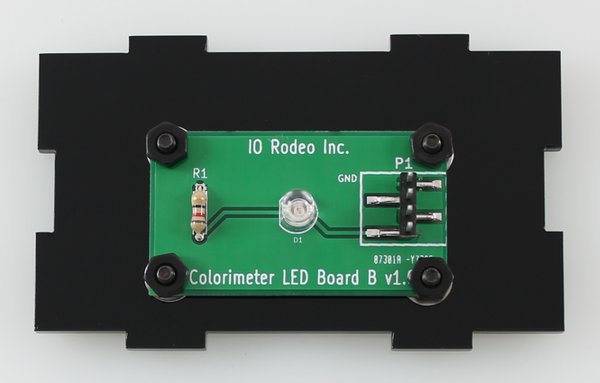 660 nm LED colorimeter board
