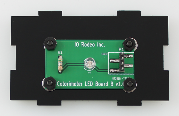 510 nm LED colorimeter board