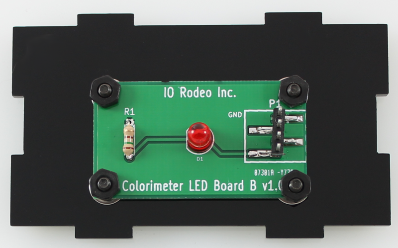 700 nm LED colorimeter board