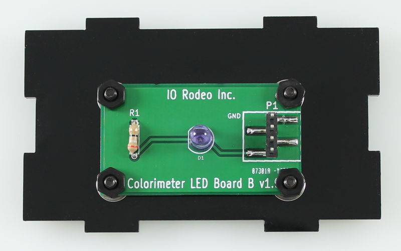 880 nm IR LED colorimeter board