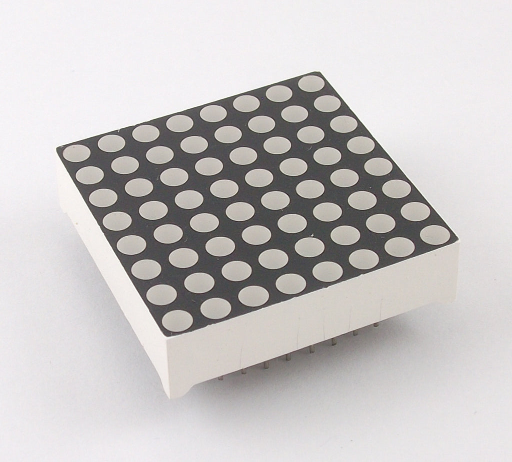 525 nm (UltraPure Green) 8x8 LED Matrix
