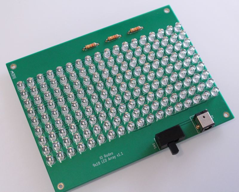 Midi blue LED board