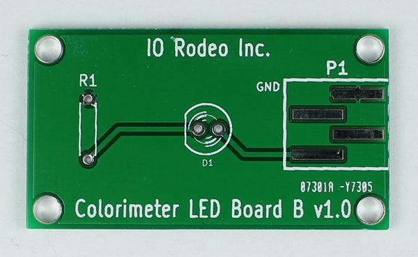Colorimeter LED Board ver B (led not included)