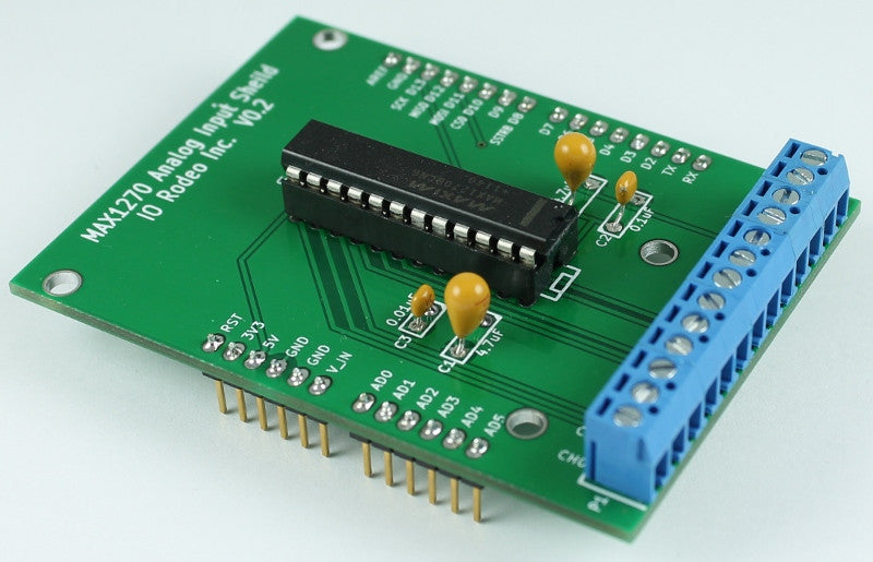 Analog input shield