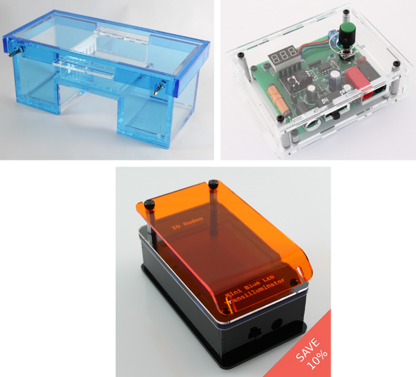 Gel electrophoresis & imaging bundle