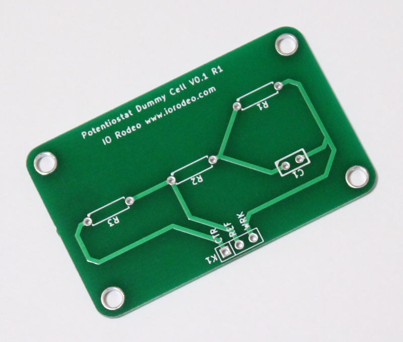 Potentiostat Dummy Cell PCB