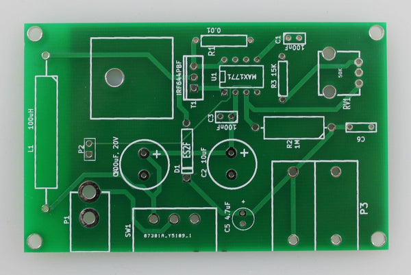 PCB - Electrophoresis power supply