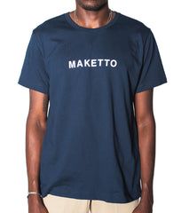 Maketto Navy tee