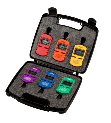 6-Pack Stopwatch Case - Alpha Aquatics & Performance