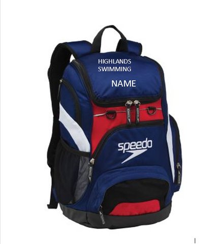 Highlands Team Backpack - Alpha Aquatics & Performance