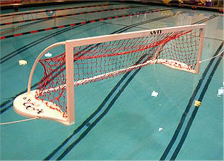 "AntiWave ""Club"" Floating Water Polo Goal - Alpha Aquatics & Performance"