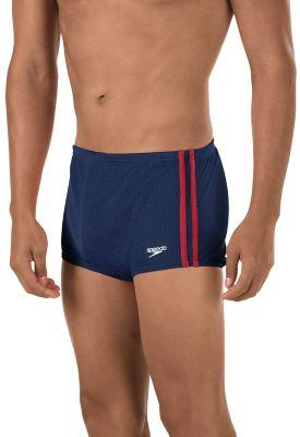 Speedo Solid Poly Mesh Square Leg - Alpha Aquatics & Performance