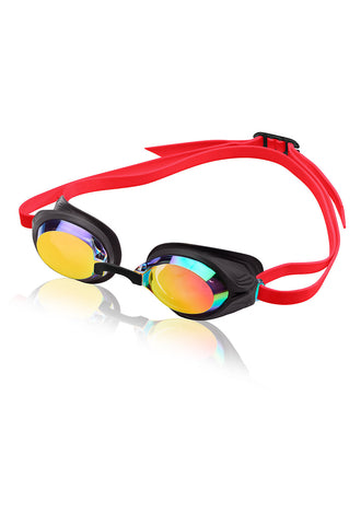 Women's Speed Socket Mirrored Goggle - Alpha Aquatics & Performance