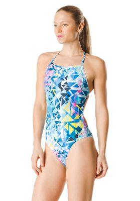 Speedo Turnz Women's Printed One Back One Piece Swimsuit