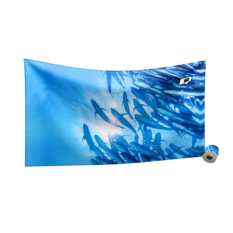 Poissons Libres Towel