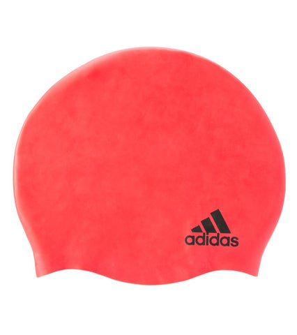 Adidas Silicone Logo Cap Youth - Alpha Aquatics & Performance