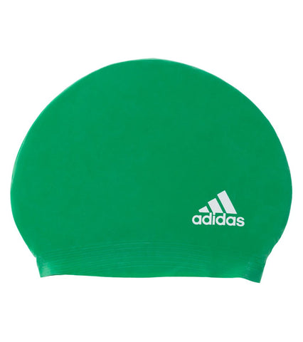 Adidas Latex Logo Cap - Alpha Aquatics & Performance