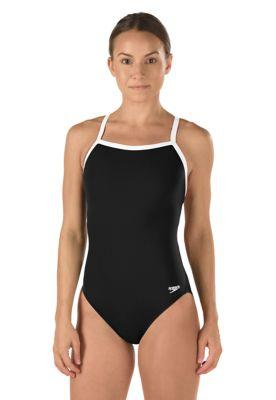 Speedo Solid Endurance + Flyback Training Swimsuit - Alpha Aquatics & Performance