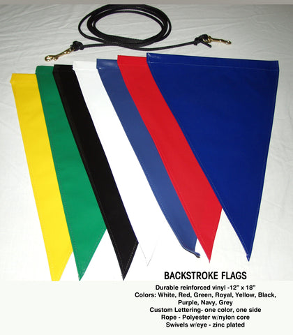 Backstroke Flags - Alpha Aquatics & Performance