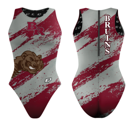 Custom Female Water Polo Suit (Bear River) - Alpha Aquatics & Performance