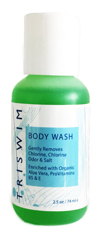 TRISWIM Swimmers Body Wash Shot Travel Size - Alpha Aquatics & Performance