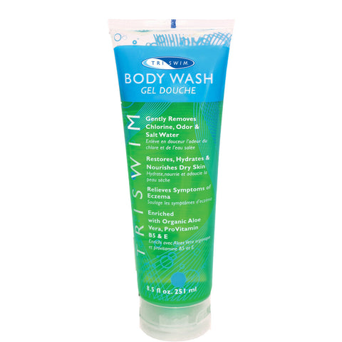 TRISWIM Chlorine Removal Body Wash - 8.5 oz. - Alpha Aquatics & Performance
