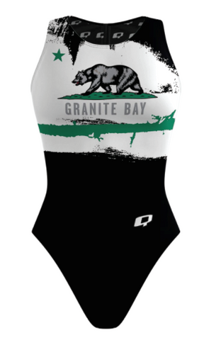 Custom Female Water Polo Suit (Granite Bay) - Alpha Aquatics & Performance