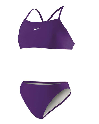 Poly Core Solid Sport Top Two-Piece