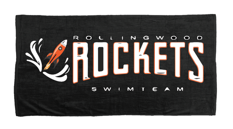 Custom Beach Team Towel (Rollingwood) - Alpha Aquatics & Performance