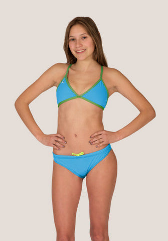 Tieback BOTTOM - Aquamarine - Alpha Aquatics & Performance
