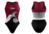 Custom Female Water Polo Suit (Woodcreek) - Alpha Aquatics & Performance