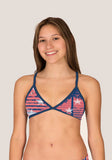 Tieback TOP - West Coast Americana - Alpha Aquatics & Performance