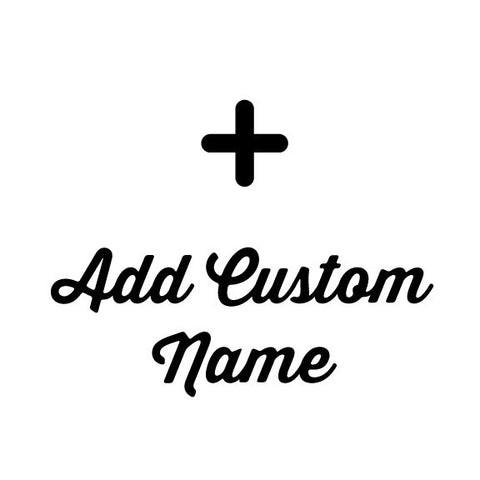 Add Custom Name to Shirt/Tank Top - Alpha Aquatics & Performance
