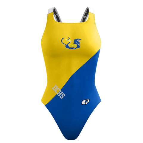 Custom Team Suit - Classic Strap (Del Campo) - Alpha Aquatics & Performance