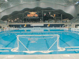 "AntiWave ""Odyssey"" Floating Water Polo Goal - Alpha Aquatics & Performance"