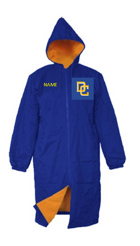 Del Campo Team Parka - Alpha Aquatics & Performance