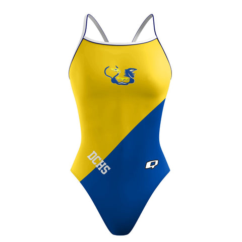 Custom Team Suit - Sunback Tank (Del Campo) - Alpha Aquatics & Performance