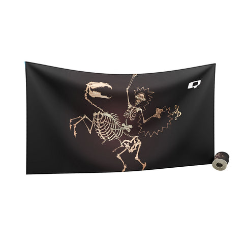 Rocked to the Bones Towel