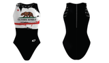 Custom Female Water Polo Suit (Cal Republic) - Alpha Aquatics & Performance