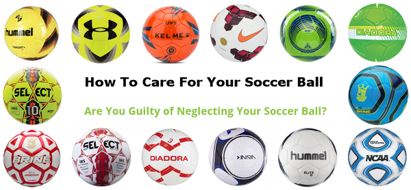 How To Care For Your Soccer Ball