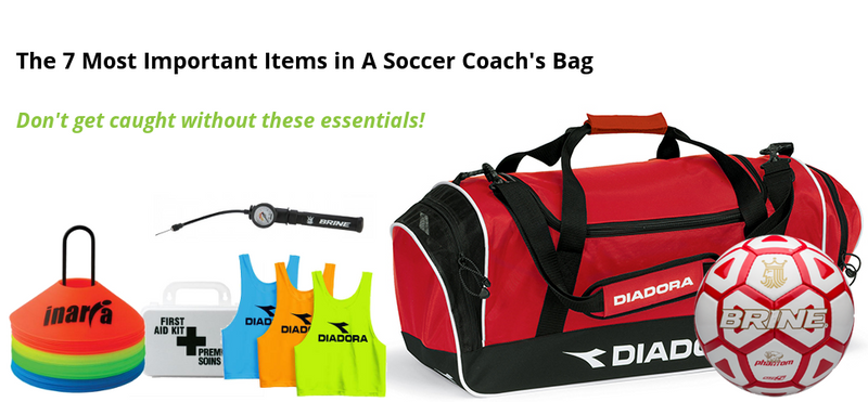 The 7 Most Important Items in A Soccer Coach's Bag