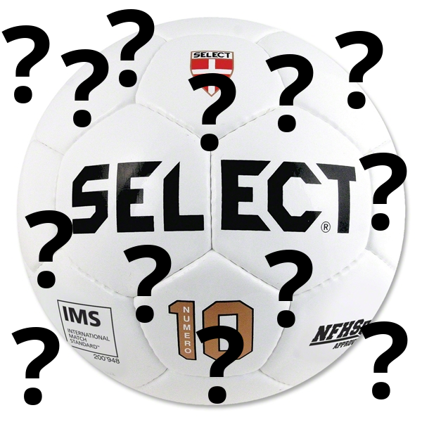 In soccer: What is the difference between a 'match' ball and