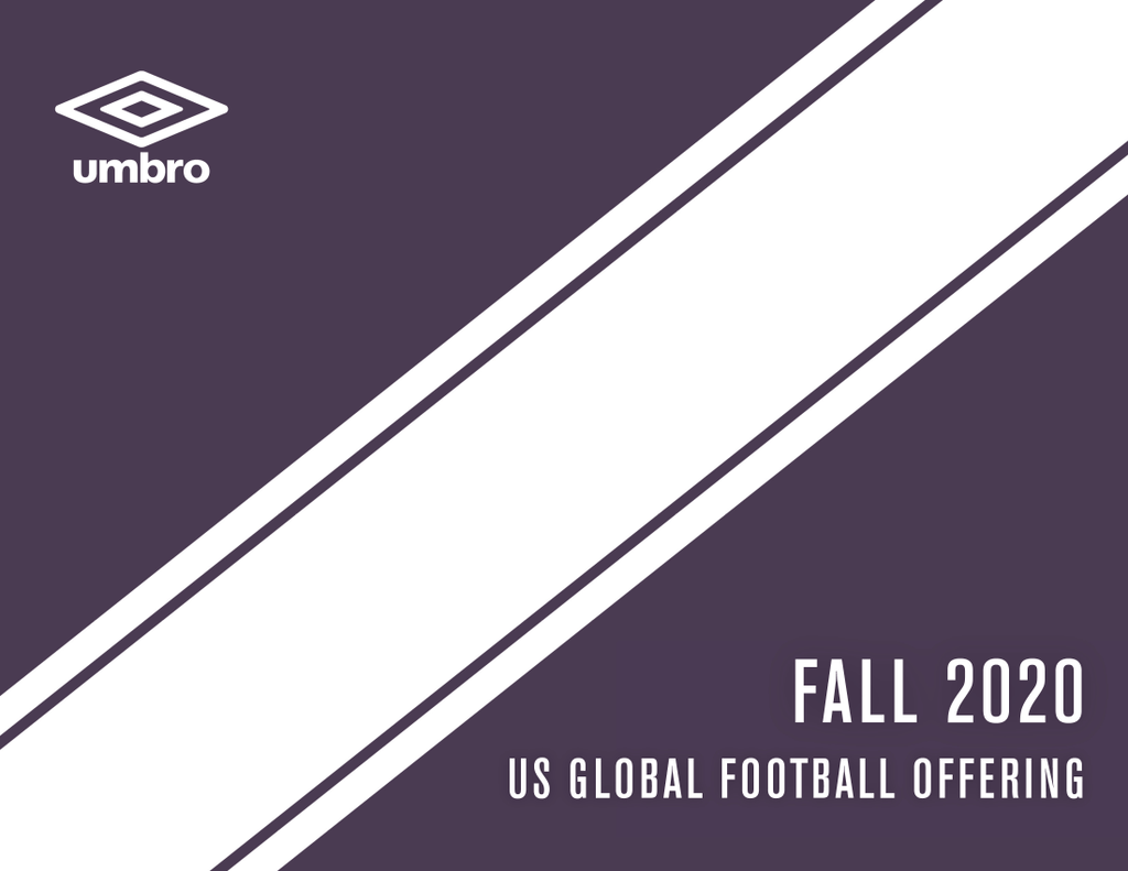 UMBRO SOCCER FALL 2020 CATALOG