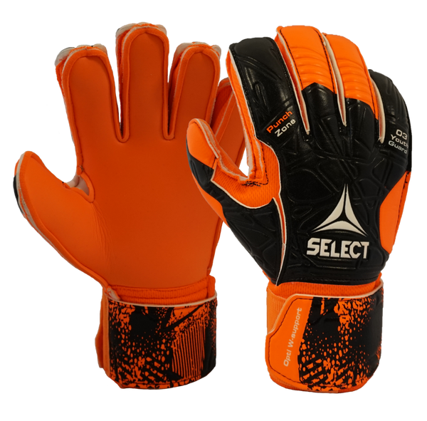 Select 03 Youth Protec v20 Goalkeeper Gloves-Soccer Command